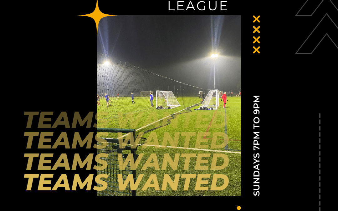 Six aside soccer teams wanted Orford , FIRST GAME JUST £20!